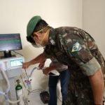 Equipe coordenada por Forças Armadas conclui protótipo de respirador de baixo custo