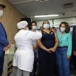 Tocantins inicia vacinação contra covid19